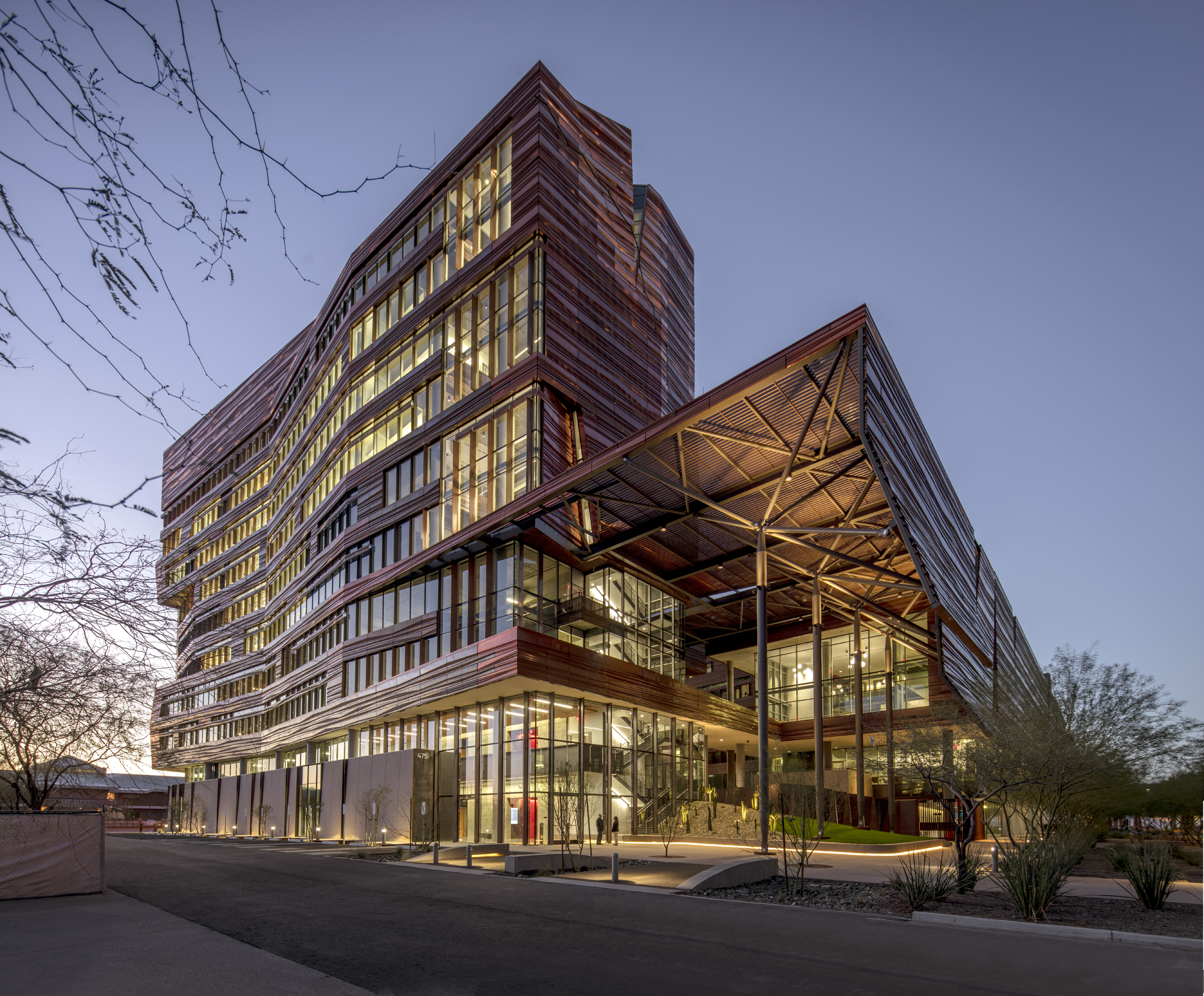 University of Arizona Biomedical Sciences Partnership Building, Arizona